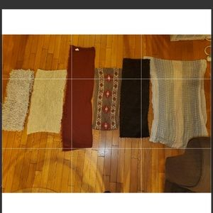 Solid And Patterned INFINITY Scarves